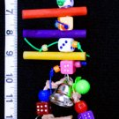 NEW! DICE & DOWELS -  Parrot Toys by A Bird Toy parts
