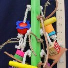 SEA POLE - LOTS OF TEXTURES! a bird toy parrot toys