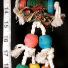 NEW! BARREL MAN - CHEW & PREEN a bird toy parrot toys