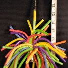 NEW! CURLY POM POM -NEON FUN bird toy parrot toys parts