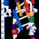 NEW! LUCKY LADDERS a bird toy parrot toys parts