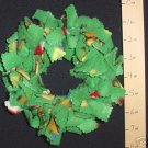 X-SMALL BIRDIE BINKIE RING GREEN - bird toy parrot toys