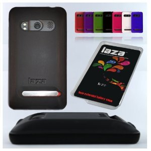 Laza Sprint HTC Evo 4G Extended Battery Silicone Cases