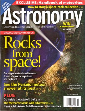 Astronomy August 2006 Vol 34 No 8 Special Meteorite Issue