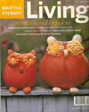 October 2003 119 Halloween Martha Stewart Living magazine