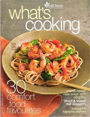 Favorite Comfort Foods What's Cooking Fall 2010 Kraft