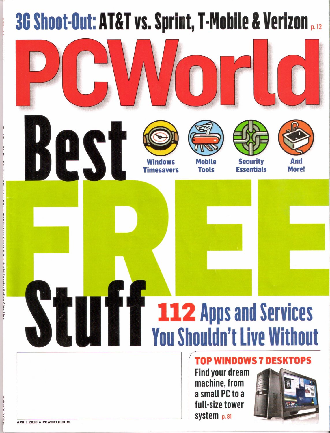 PC World Best Free Stuff April 2010 PCWorld Magazine