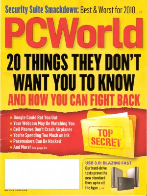 Twenty Things They Don't Want You to Know 2010 PC World May