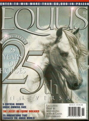 Equus November 2002 Issue 301 25 Years of Horses