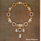 David Webb Jewels Vintage Color Print Ad 1972 Vogue Magazine
