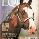EQUUS Horse August 2002 Issue 298 Find the Best Halter