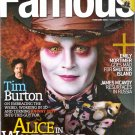 Johnny Depp Famous February 2010 Volume 11 Number 2