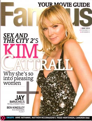 Kim Cattrall Famous May 2010 Volume 11 Number 5