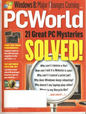 PC World March 2011 Great PC Mysteries Solved PCWorld Magazine