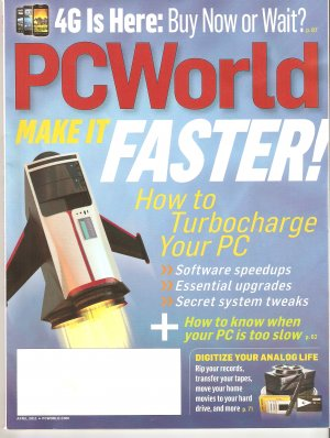 PC World April 2011 Turbocharge Your PC PCWorld Magazine