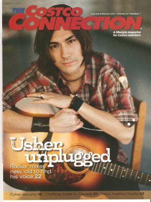 David Usher Costco Connection Canadian January February 2011 Canadian