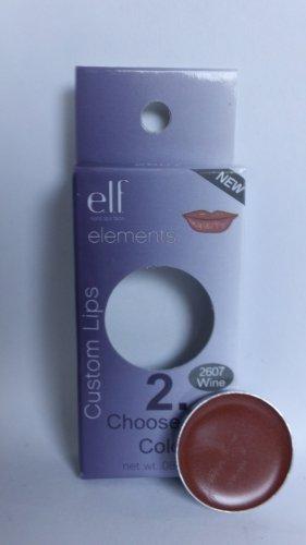 E.L.F. Custom Lips ELF Lipcolor Pan #2607 Wine lipstick