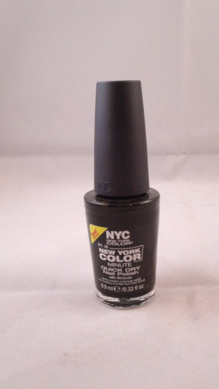 NYC In a New York Color Minute Quick Dry Nail Polish Enamel Lacquer #214B1 Flat Iron Green