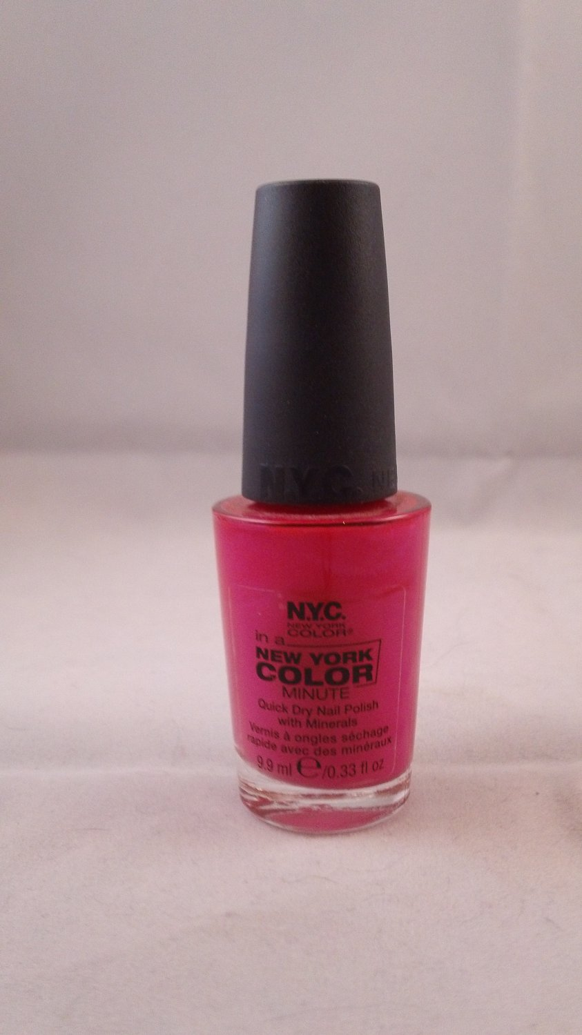 NYC In a New York Color Minute Quick Dry Nail Polish Enamel Lacquer #236B Greenwich Village