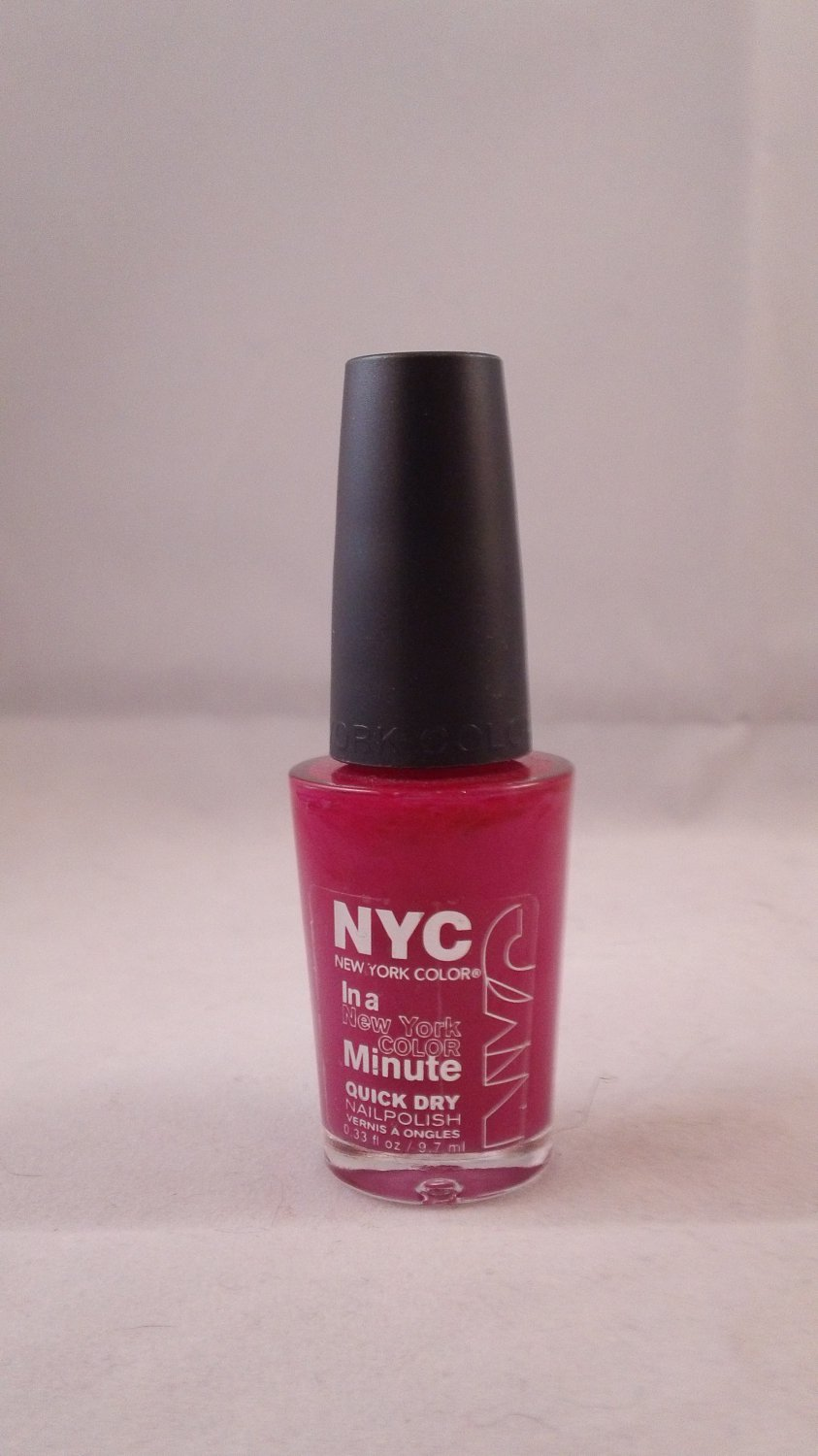NYC In a New York Color Minute Quick Dry Nail Polish Enamel Lacquer #238 MoMa