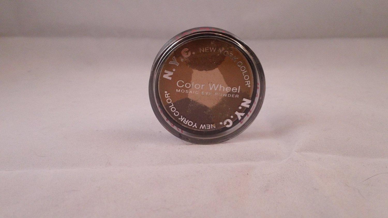 NYC New York Color Mosaic Color Wheel Eyeshadow Eye Shadow Powder #820B Brown Sugar