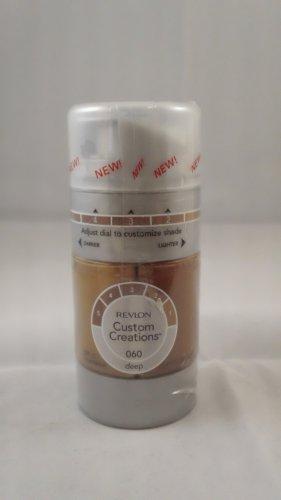 Revlon Custom Creations Liquid Foundation #060 Deep