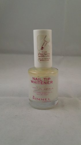 Rimmel London Lycra Mineral Nail Tip Whitener French Manicure White Polish lacquer color