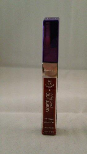 Rimmel London Moisture Renew Lipgloss Lip Gloss SPF 15 #565 Red Action