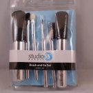 Studio 35 Beauty Brush & Go 6 piece travel set kit