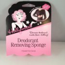 Hollywood Fashion Secrets Deodorant Removing Sponge reusable