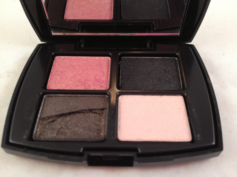 Lancome Color Design Mini Eyeshadow Palette Sensational Effects quad eye shadow Damaged