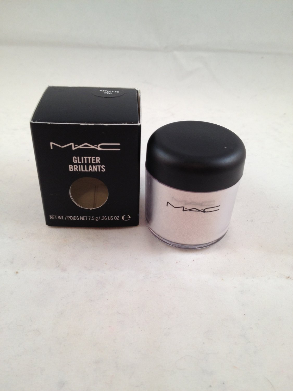 MAC Cosmetics Glitter Brillants Reflects Red old style jar