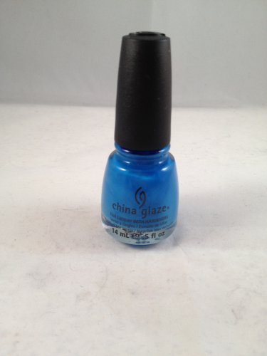 China Glaze Nail Lacquer with Hardeners #722 Sky High-Top color polish