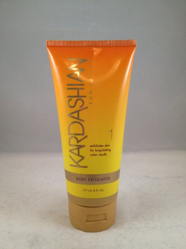 Kardashian Sun Kissed Body Buffer Exfoliator scrub lotion skin care tanning prep