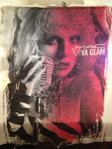 Pre-Owned MAC Cosmetics Viva Glam VI 6 Debbie Harry T-Shirt Size Medium M employee shirt rare