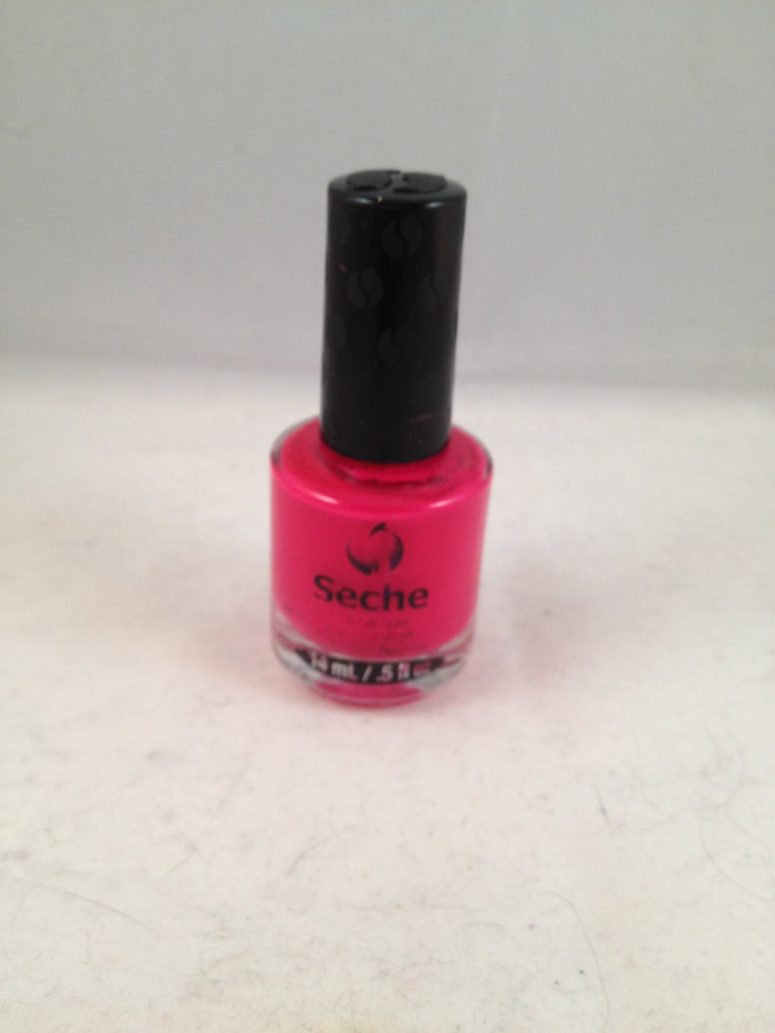 Seche Nail Lacquer Audacious color polish red fuchsia