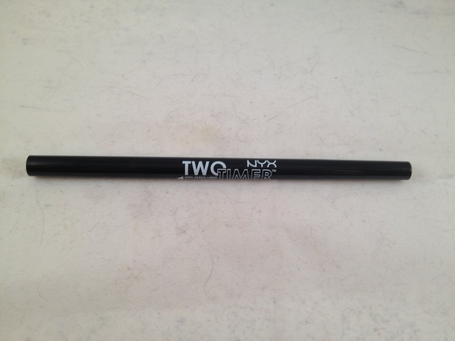 NYX Two Timer Dual Ended Eyeliner Black eye liner retractable kohl pencil and liquid pen