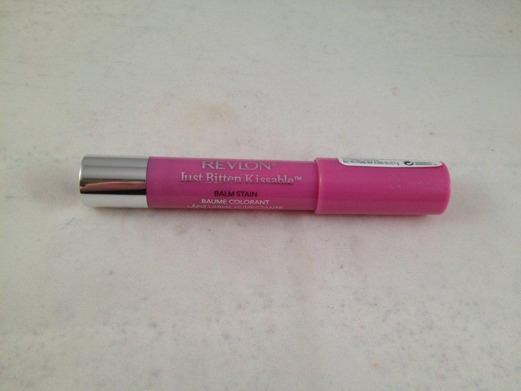 Revlon Just Bitten Kissable Balm Stain Cherish lip crayon lipstick chubby color stick