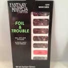 Wet n Wild Fantasy Makers Foil & Trouble Nail Applique Stickers #12747 Widow Queen wraps