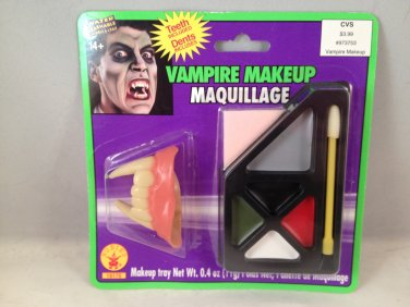 Rubie's Costume Company Vampire Makeup Kit with false fangs teeth face paint Halloween