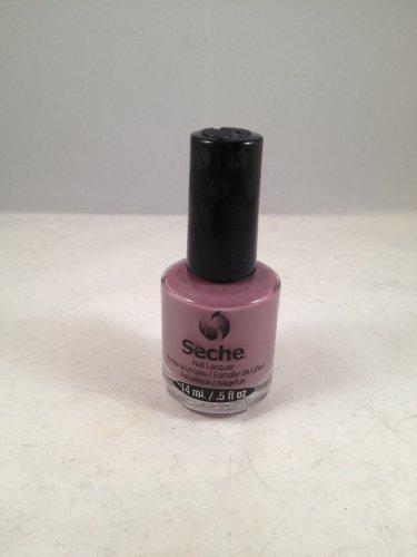 Seche Nail Lacquer Contemporary color polish purple grey creme