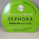 Sephora Collection Green Tea Eye Mask 1 Pair skin care facial