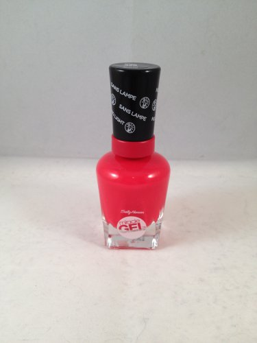 Sally Hansen Miracle Gel Polish Nail Color #429 Scarlet Starlet no UV light needed!