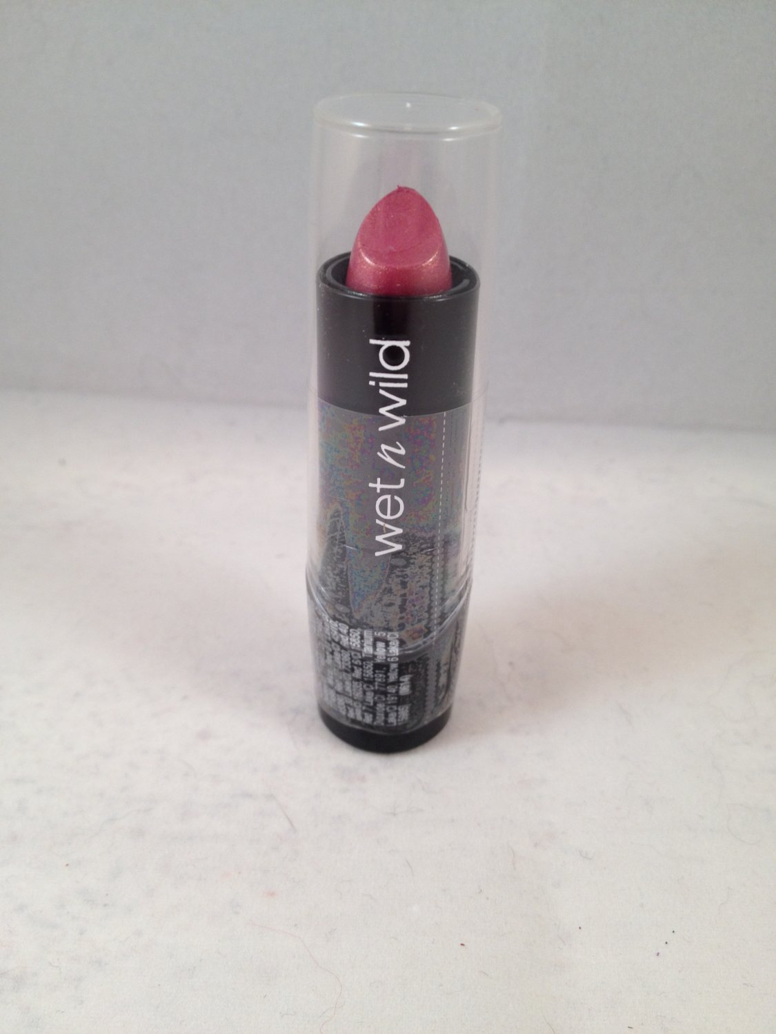 Wet n Wild Silk Finish Lipstick #530D Dark Pink Frost