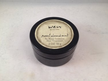 WEN by Chaz Dean Sweet Almond Mint Re Moist Intensive Hair Treatment travel size cream mask