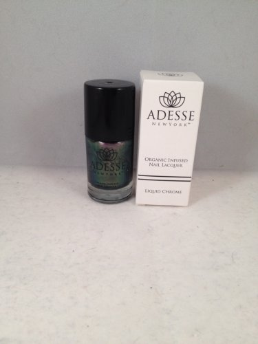 Adesse New York Liquid Chrome Organic Infused Nail Lacquer Grand Central polish
