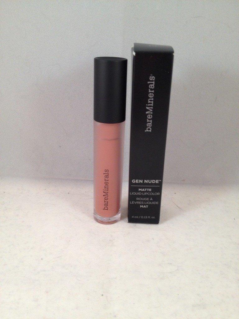 bareMinerals GEN NUDE Matte Liquid Lipcolor XYZ lipstick Bare Escentuals