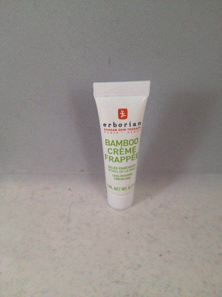 Erborian Bamboo Creme Frapee Skin-Reviving Fresh Gel Moisturizer trial size
