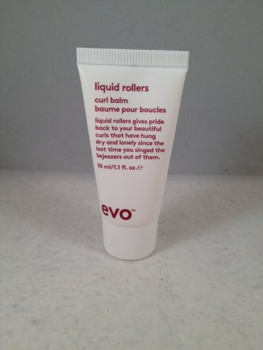 Evo Liquid Rollers Curl Balm travel size hair styling cream