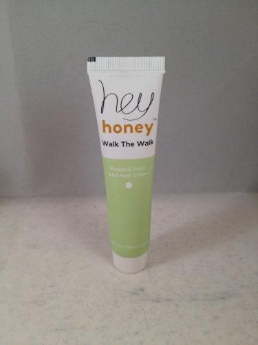 Hey Honey Walk the Walk Propolis Foot and Heal Cream travel size
